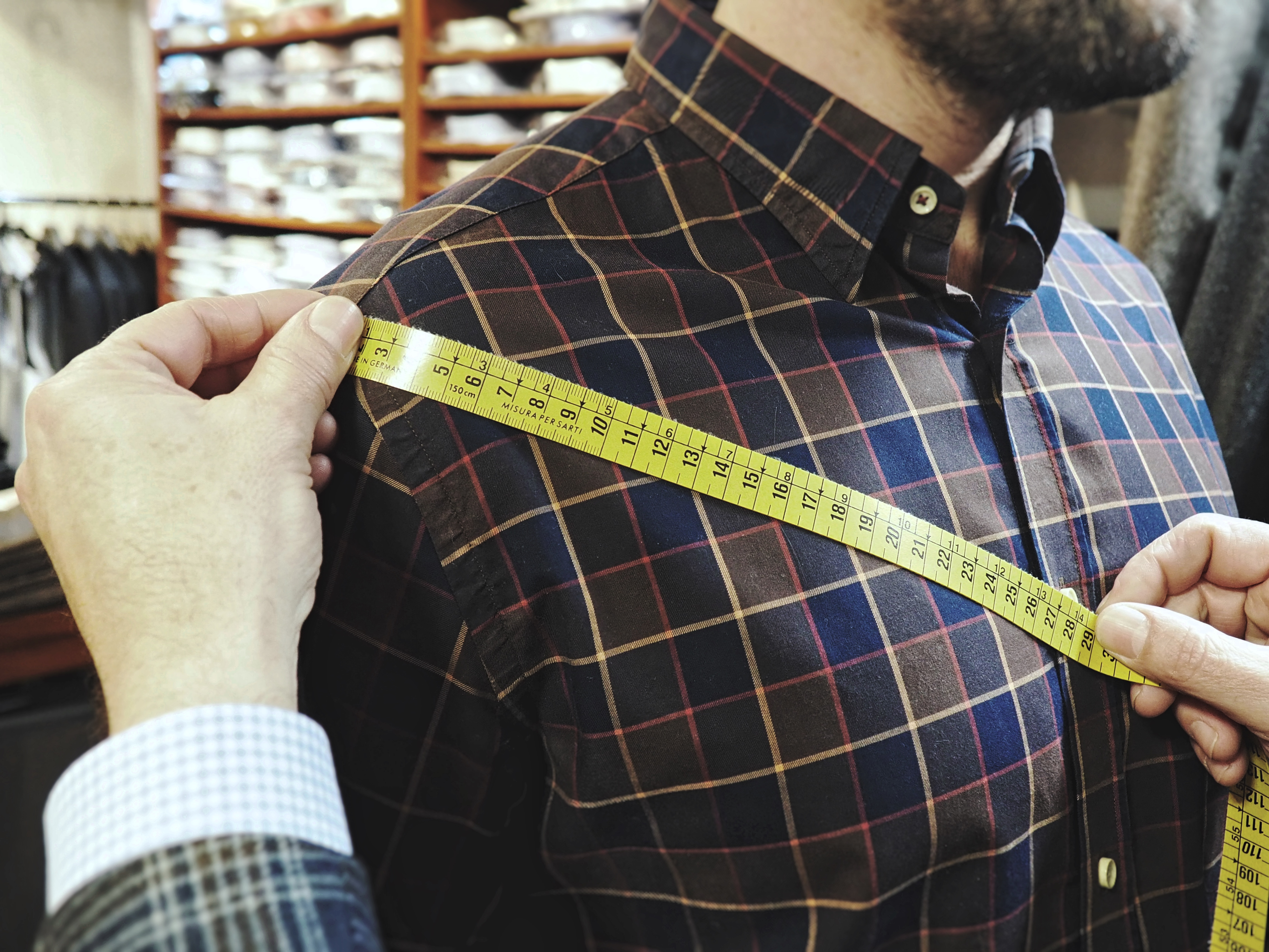 mides, camisa, moda, home, costura, artesanal, bespoke, mesurar, pit